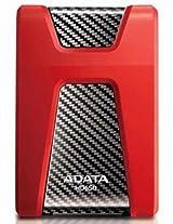 Adata Dashdrive HD650 1TB Portable External Hard Drive (Red)