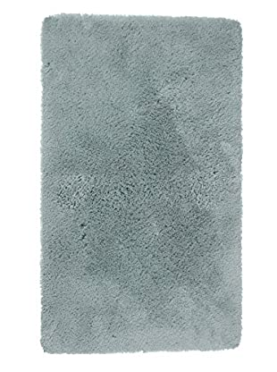 Welspun Crowning Touch Bath Rug (Aqua Blue)