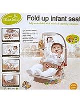 MASTELA FOLD UP INFANT SEAT - 07217 (BROWN)