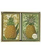 Royal Pineapple Bridge Jumbo Type Playing Cards