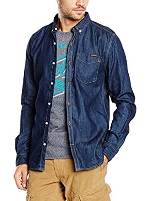Superdry Camicia Denim London Loom Nep