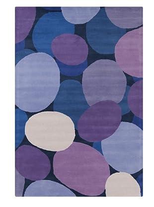 Filament Marti Rug, Purple/Blue, 5' x 7' 6