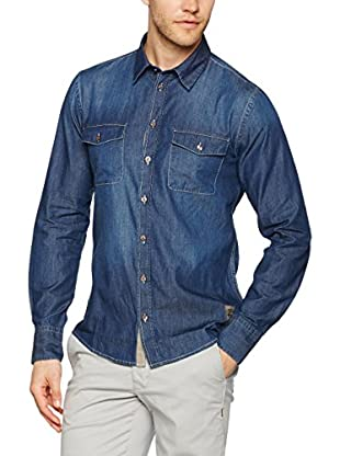 Dekker Camicia Fury Denim Patch 15E