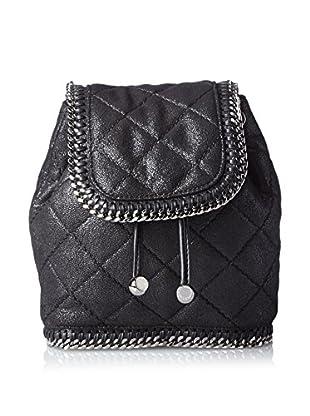 Stella McCartney Women's Shaggy Deer Mini Backpack, Black