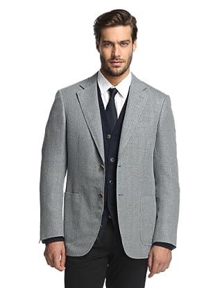 Canali Men's 2-Button Sport Coat (Steel Blue)