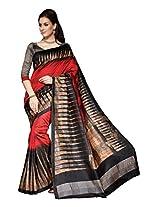 Bhavi Creations Presents Printed Cochin Silk Saree Exclusive Foil Print