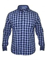 Numero Uno Blue Check Shirt