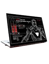 Laptop Skins 14 inch - Iron Man - Blue Print - HD Quality - Dell-Lenovo-HP-Acer