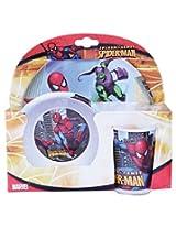 Melamine Set W/O Rim Spiderman Sense