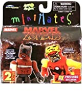 Marvel MiniMates Previews Exclusive Zombie Iron Man & Black Panther 2-Pack