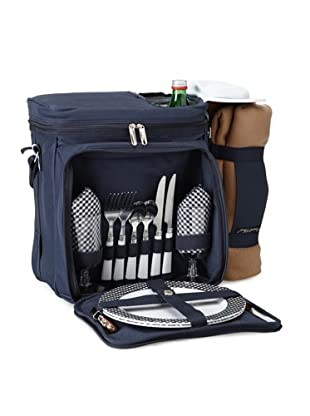 Picnic at Ascot Bold Picnic Cooler for 2 with Blanket