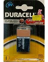 Duracell 9V, 6LR61 Alkaline Battery