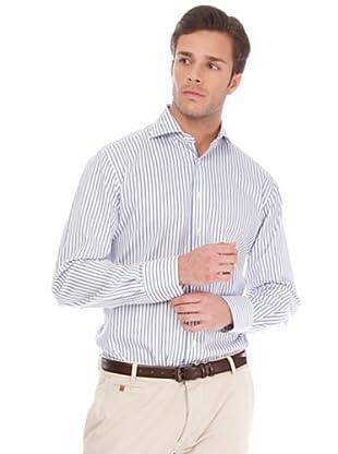 Arrow Camisa Devon (Azul Cielo / Blanco)