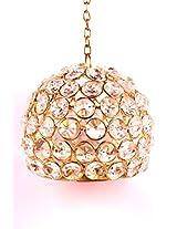 Shree Sai Jewels Crystal Ball Hanging Tea Light Holder