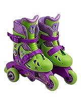 Disney Fairies Kid's Convertible 2-in-1 Skate Junior Size 6-9