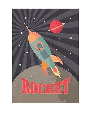 ReallyNiceThings Lienzo Infantil Kids Lienzo Rocket