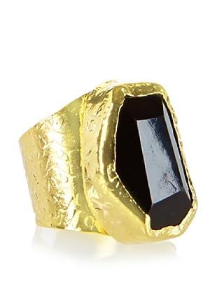Charlene K Onyx Cigar Ring