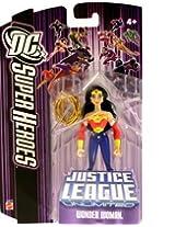 """Justice League Unlimited """" Wonder Woman """" W/ Gold Lariat Moc"""