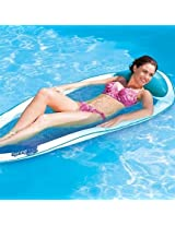 SwimWays Spring Float - Blue with Lt. Blue Edge