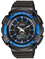 Casio Youth Series Analog-Digital Black Dial Unisex Watch - AD-S800WH-2A2VDF (AD187)