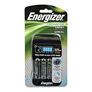 Energizer CHP4WB4 Recharge Smart Charger 4 AA NiMH AD