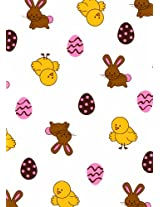 Make N' Mold 5040E3 Dress My Cupcake Small Playful Bunny Treat Bags with Twist Ties