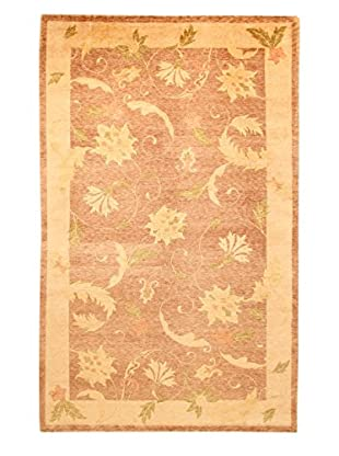 Roubini Tibetan Vegetable Dyed Hand-Knotted Rug, Multi, 5' 5