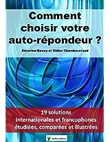 Comment choisir votre auto-répondeur ? (Collection pratique t. 1) (French Edition)