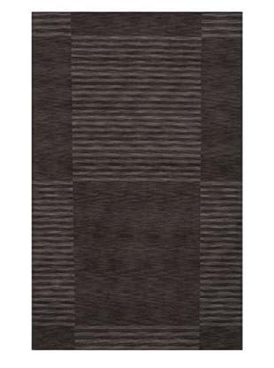 Momeni Striped Rug, Carbon, 5' x 8'