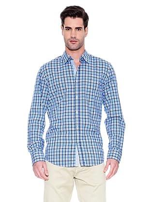 Hugo Boss Camisa Obert (Azul)