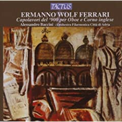 Ferrari: Chamber Works for Oboe &amp; English Horn