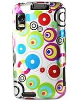 Motorola 2D Protector Cover for Motorola Atrix 4G mb860 107 - Retail Packaging - Silver/Mult