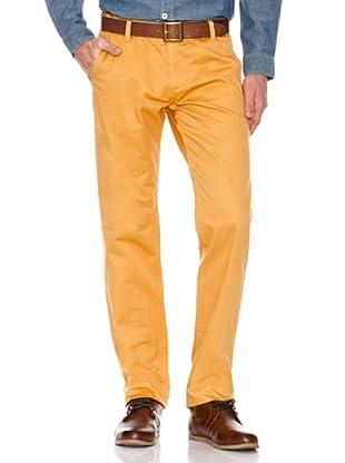 Dockers Pantalón Alpha de Color (amarillo)