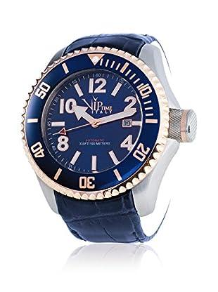 Vip Time Italy Uhr mit Japanischem Quarzuhrwerk VP5030BL_BL blau 50.00  mm