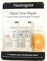 Neutrogena Rapid Tone Repair Combo Pack, Day and Night Moisturizer (total net wt 2 fl oz)