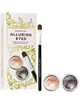 Bare Minerals Alluring Eyes 3 Piece Eyecolor & Brush Collection