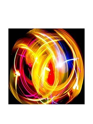 Legendarte Leuchtbild Vortici Colorati 50X50 Cm mehrfarbig