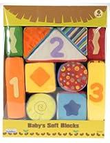 Beebop 81070 Beebop Baby 11 Piece Soft Block