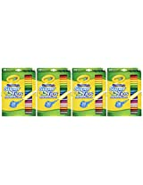 Crayola Super Tips Washable Markers, 20 Count (Pack of 4) 80 Markers Total