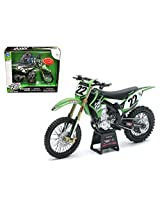 "Kawasaki KX 450F ""Two Two Motorsports"" Chad Reed #22 Bike Motorcycle Model 1/12 by New Ray 57687"