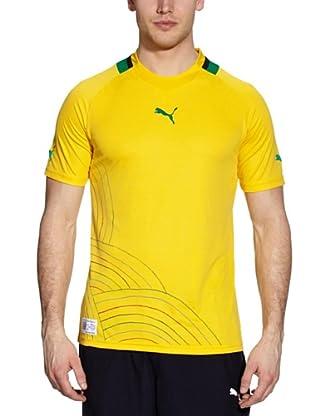 Puma Fußballtrikot Africa Home Replica (savannah yellow-mamba green-south africa)
