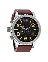 Nixon 51-30 Chrono Black Brown Men's Watch - Nxa124019