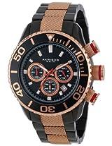 Akribos XXIV Men's AK512TT Conqueror Large Diver's Chronograph Bracelet Watch