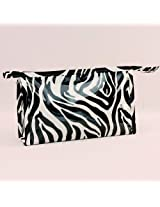 Animal World - Zebra Medium Cosmetic Bag - Multi