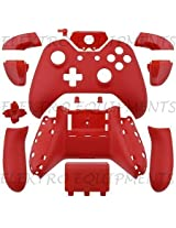Xbox One Controller Shell Matt Red(Controller Not Included)