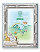 Silver Touch USA Sterling Silver The Ark Picture Frame, Blue