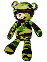 Mary Meyer Green Camo Bear Plush Toy, 11 Inch By Mary Meyer