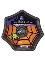 Wilton 2105-8920 Web with Spider Cake Pan Set