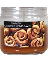 Candle-lite Essentials 3-1/2-Ounce Cinnamon Pecan Swirl Jar Candle