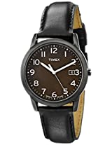 "Timex Men's T2N947 ""Elevated Classics"" Watch with Leather Band"